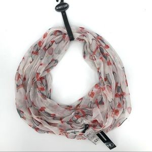 New Directions Christmas penguin infinity scarf